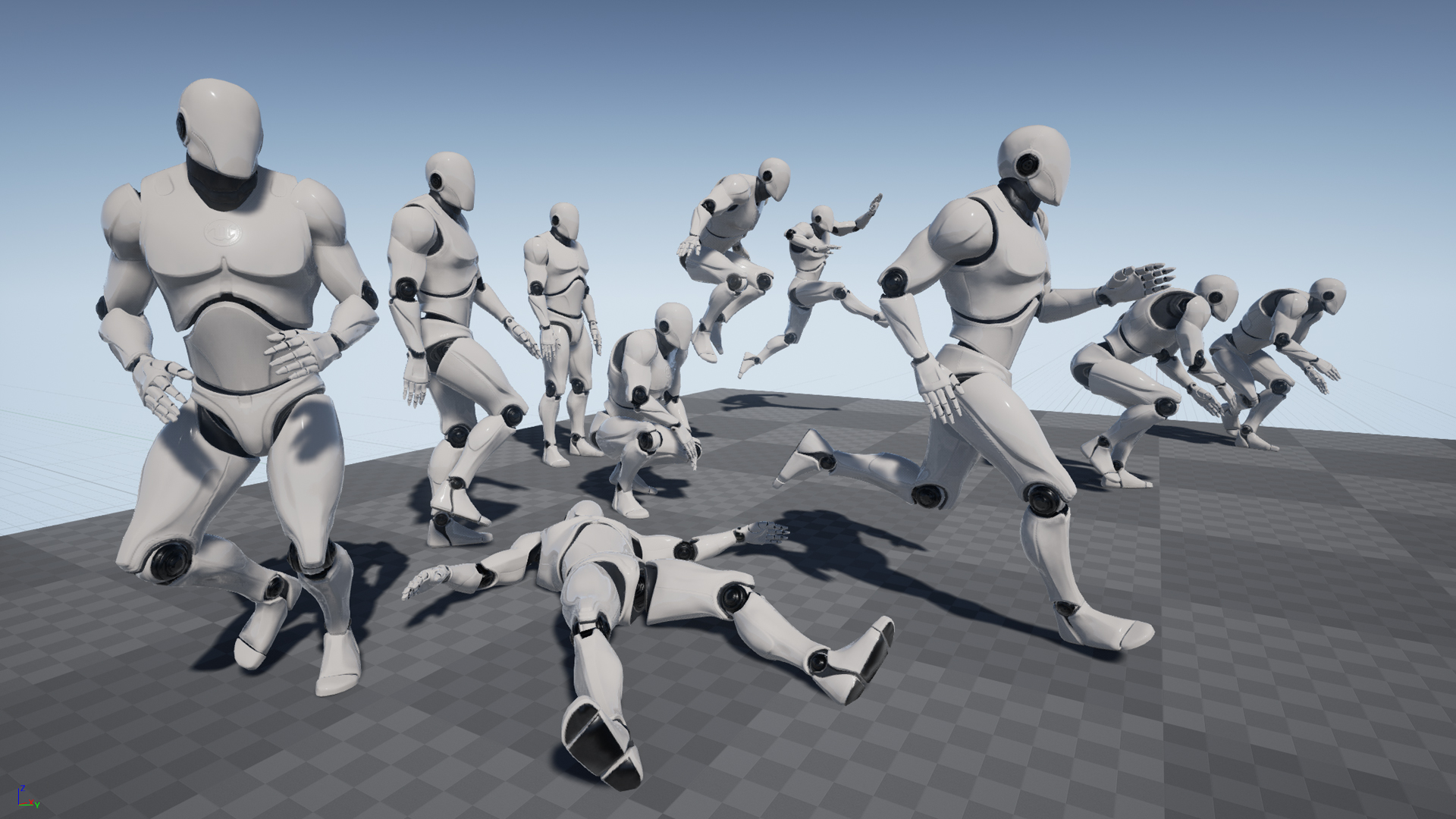 Mobility: MoCap Animation Pack ~ 3D Character Animation for