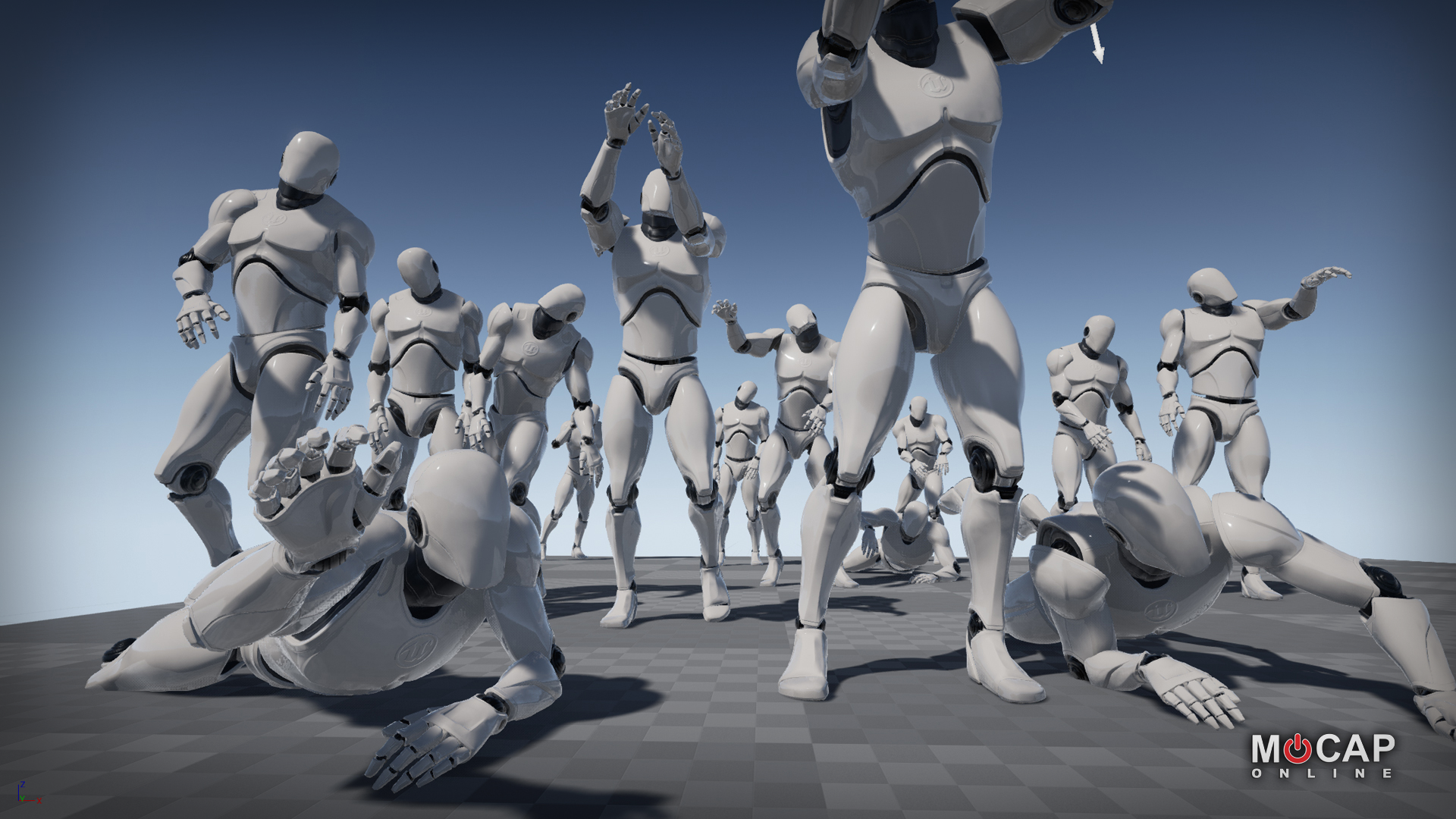 Zombie MoCap Animation Pack - 3D Character Animations for