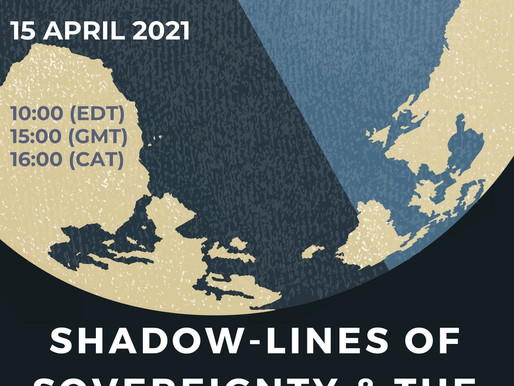 15APR: 'Shadow-lines of Sovereignty & the End of Archives'