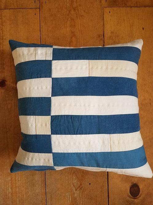 Indigo Stripes Pillow