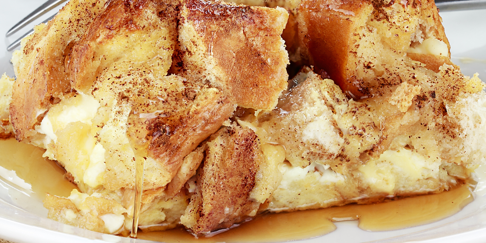French Toast Casserole ~ Cooking Class