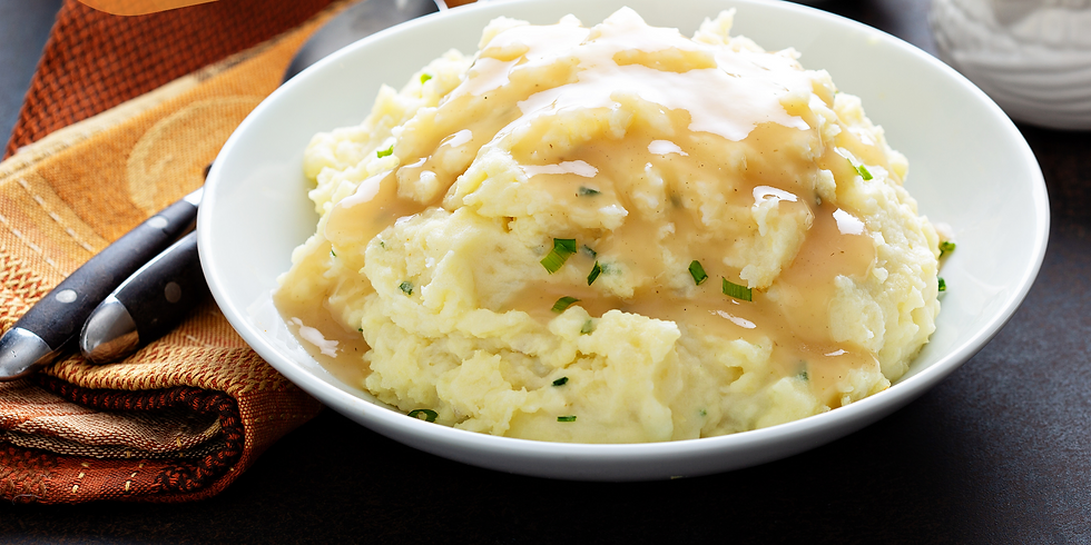 Creamy Mashed Potatoes & From-Scratch Gravy ~ Thanksgiving Cooking Class