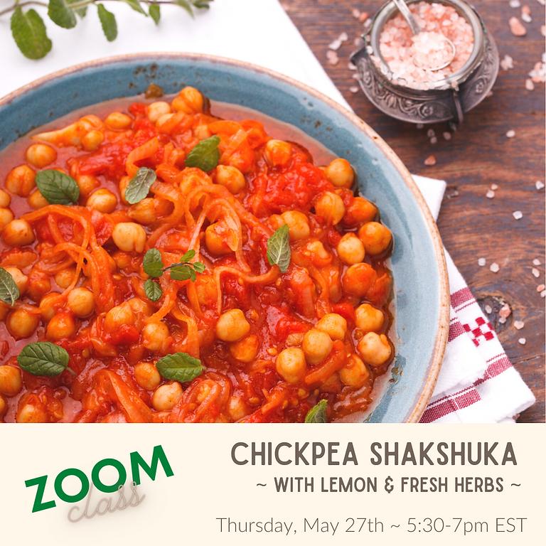 Chickpea Shakshuka ~ Cooking Class