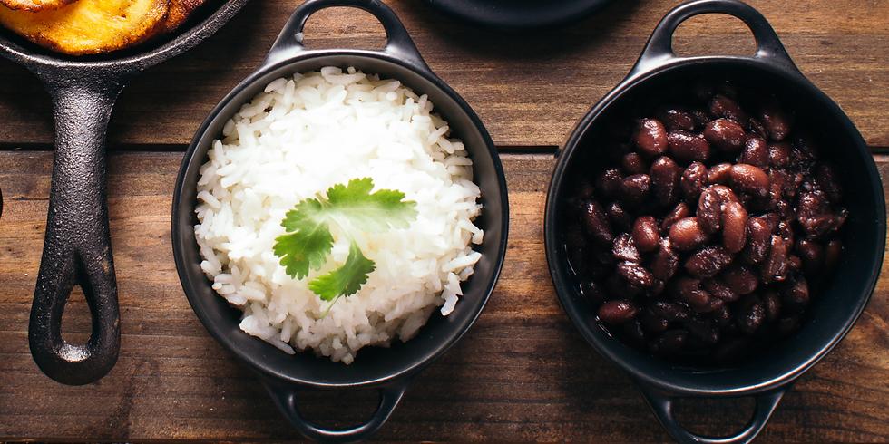 Cuban Feast, Part 1: Black Beans, Rice & Sweet Plantains ~ Cooking Class