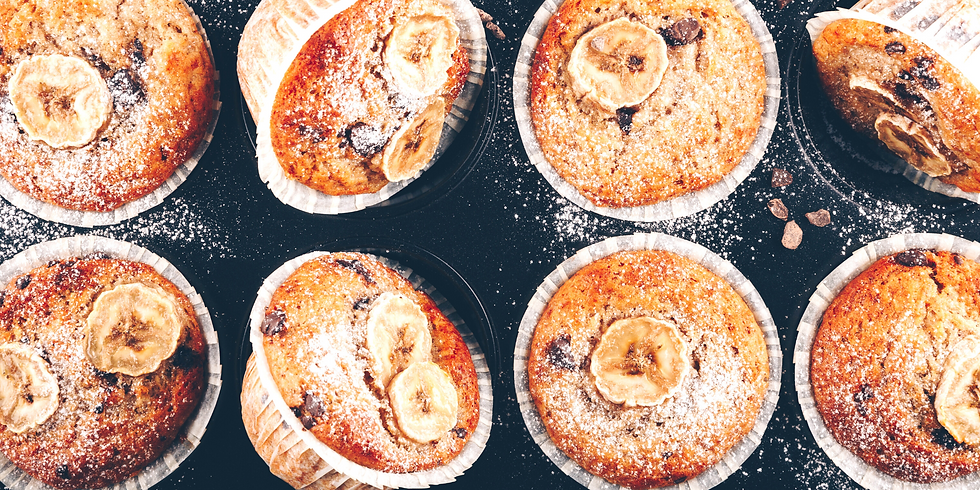 Best Banana Muffins ~ Baking Class