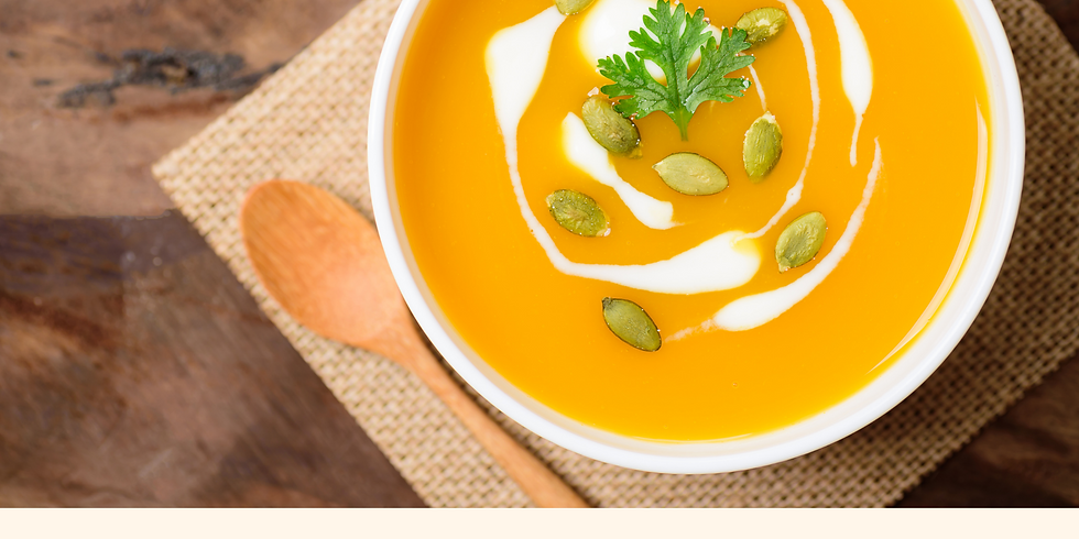 Creamy Roasted Butternut Squash Soup ~ Cooking Class