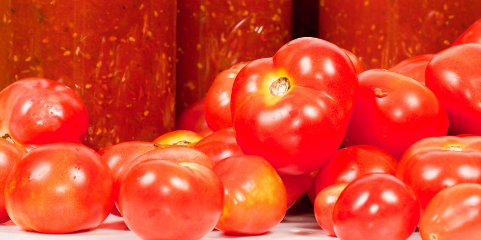 Tomato & Salsa  ~ Canning Workshop