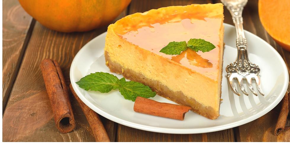 Pumpkin Spice Cheesecake ~ Baking Class
