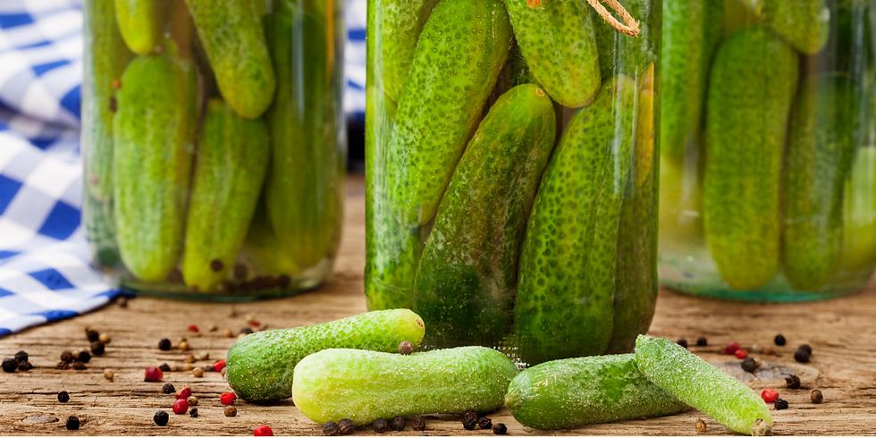 Cucumber Pickles  ~ Canning Workshop