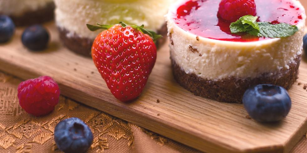 Mini Cheesecakes ~ Baking Class