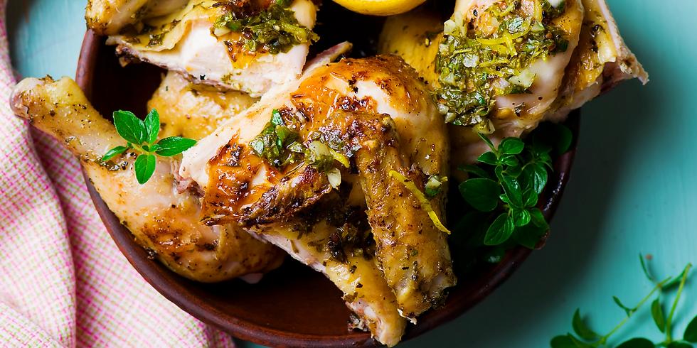 Italian Grilled Lemon Chicken ~ Grilling Class