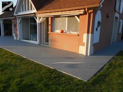 Terrasse à Buziet (64)
