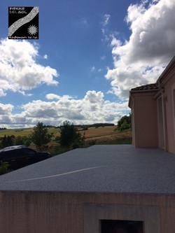 Terrasse à Gimbrède