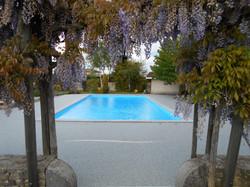 Plage piscine à Caussade