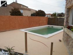 Plage piscine à Baho (66)