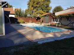 Plage piscine à Mont de Marsan