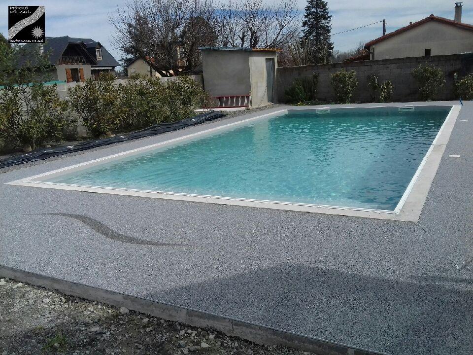 Plage piscine à Aurensan (65)