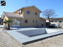 Plage piscine + terrasse à Capbreton