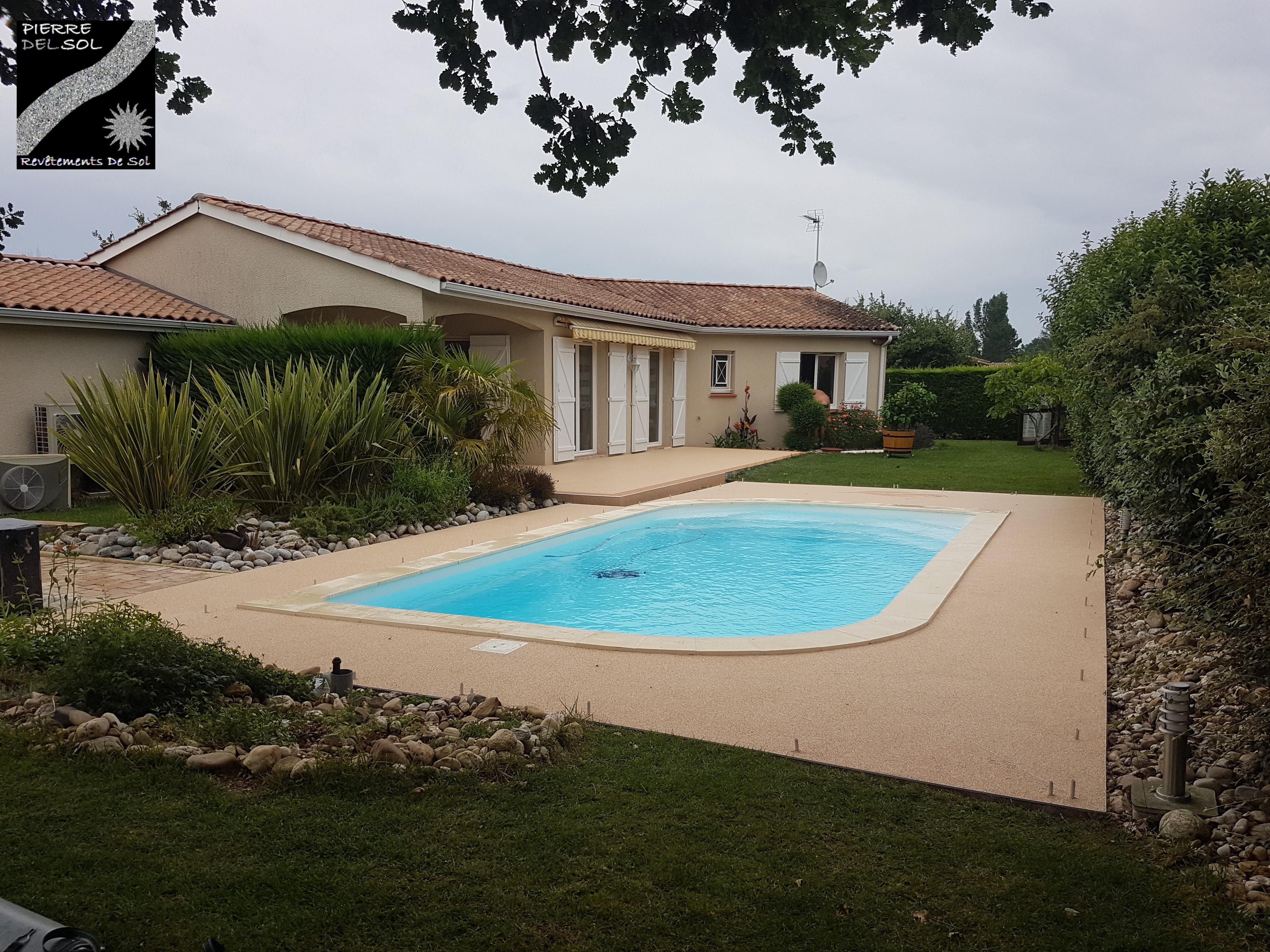 Plage piscine à Montauban