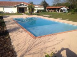 Plage piscine à St Perdon
