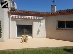 Terrasse à Roquefort
