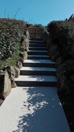 Escalier Buisson de Cadouin