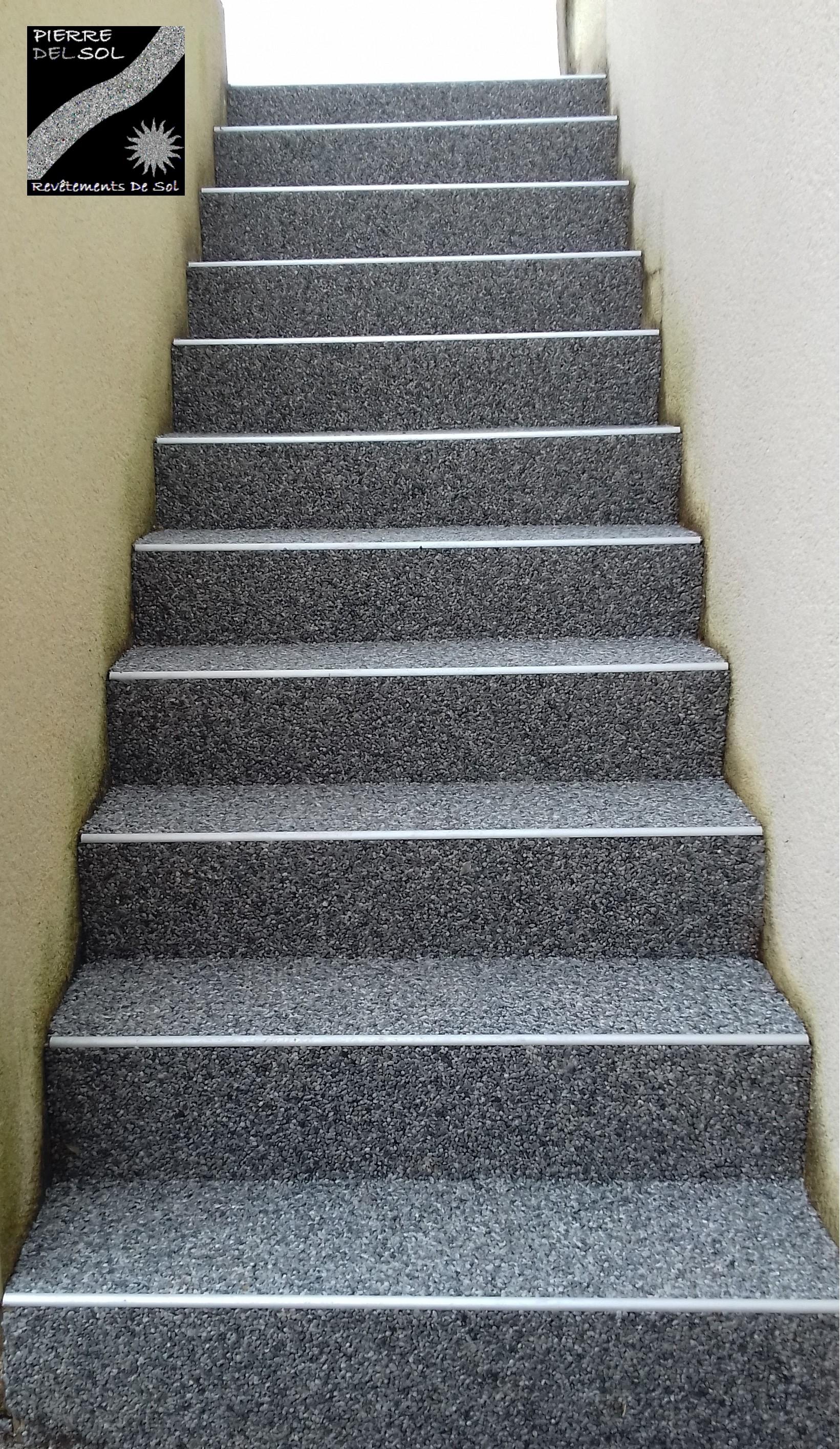 escalier à Ger