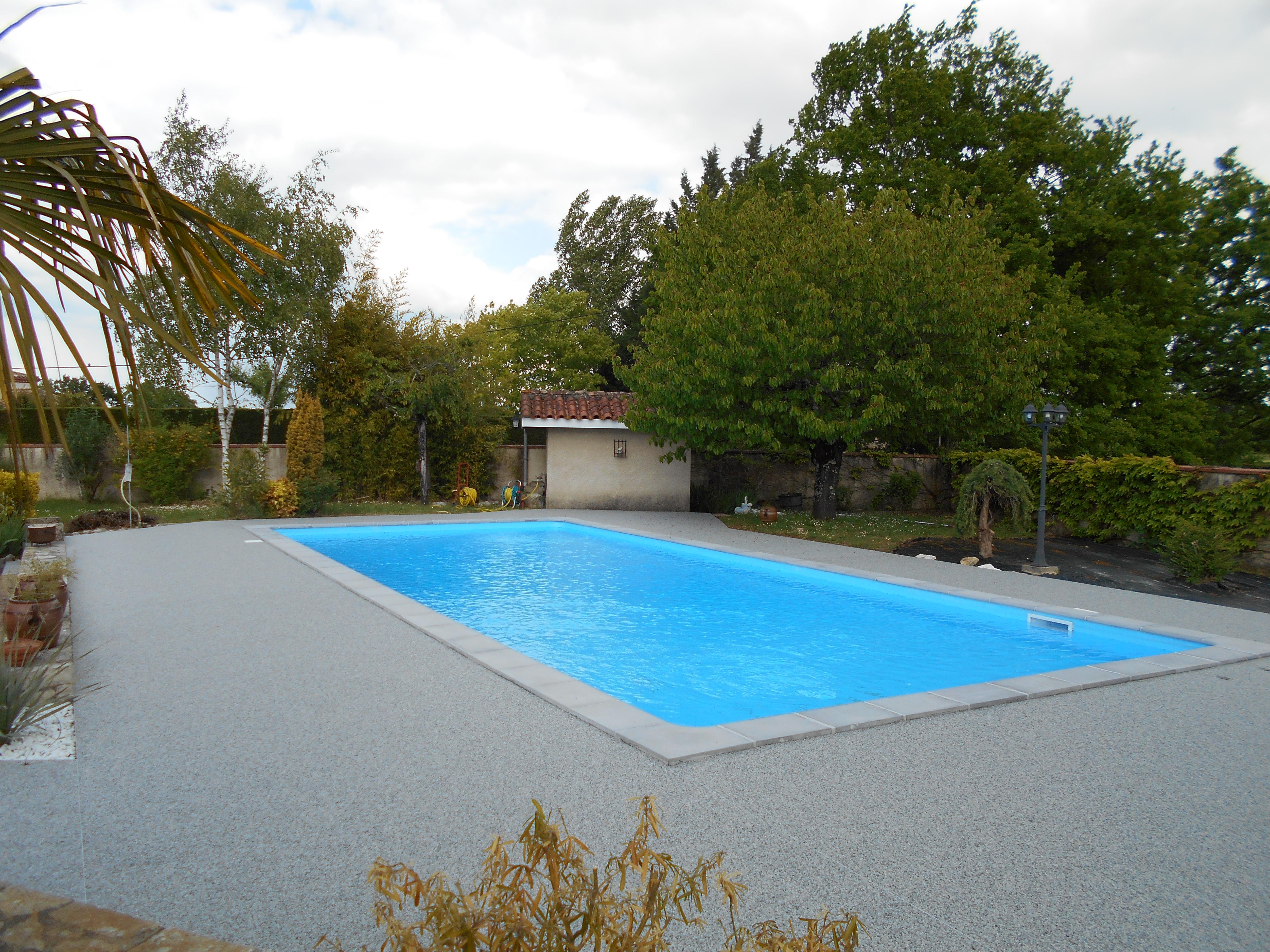 Plage piscine Caussade