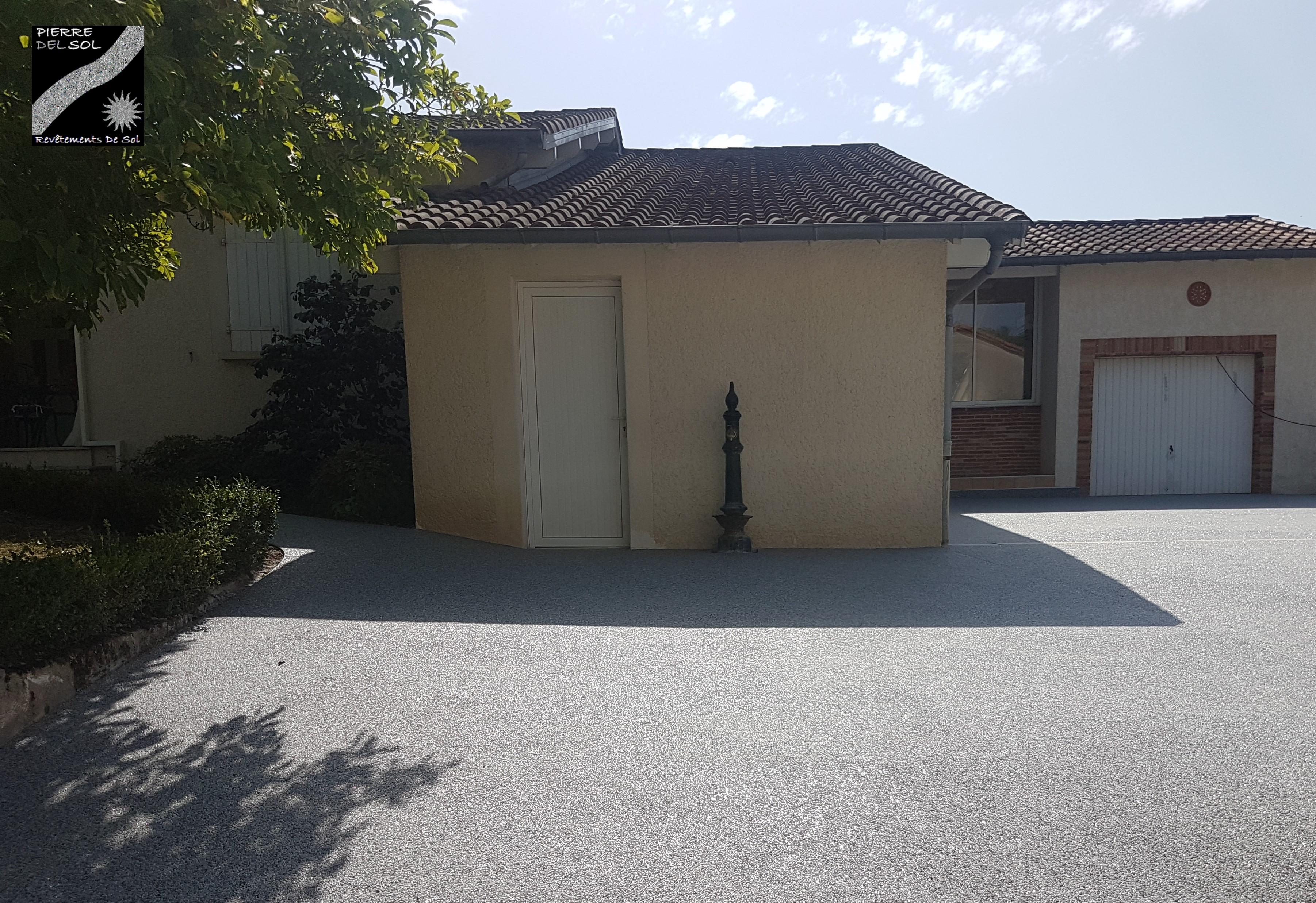 Terrasse & Carrossable à La Bastide du Temple