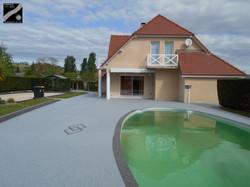 Plage piscine à Monein (64)