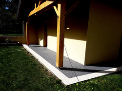 Terrasse couverte à Vicdessos