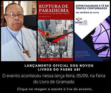 lançamento oficial dos novos livros do padre ari (1).png
