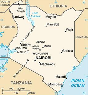 Abukutsa Arts Academy - Map of Kenya