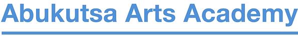 Abukutsa Arts Academy logotype construction page