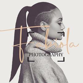 Logo design for @fabiolaphotography_ ! H