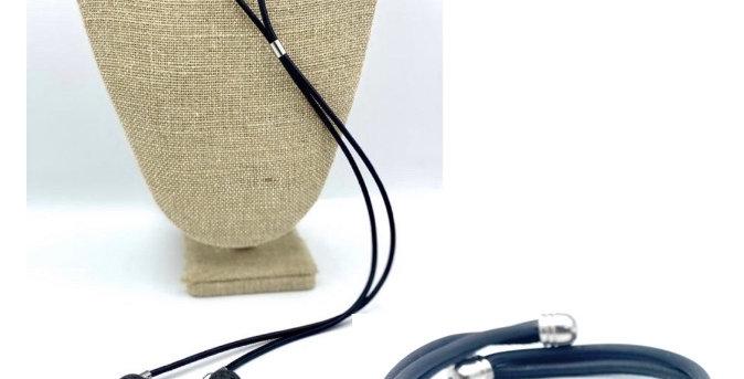 DUO collier  long et bracelet