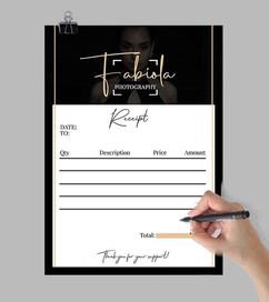 Get rid of those boring receipt sheet an