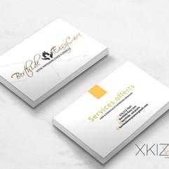 LOGO + Business cards for Berthide Easy