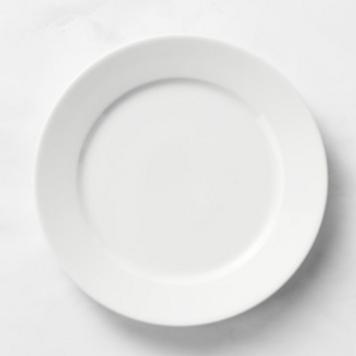 MARIE ANTOINETTE: Sous-assiette blanche 11'' jetable réutilisable