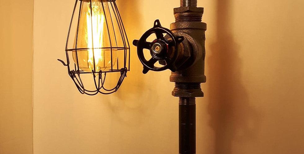 Lampe cage fermée