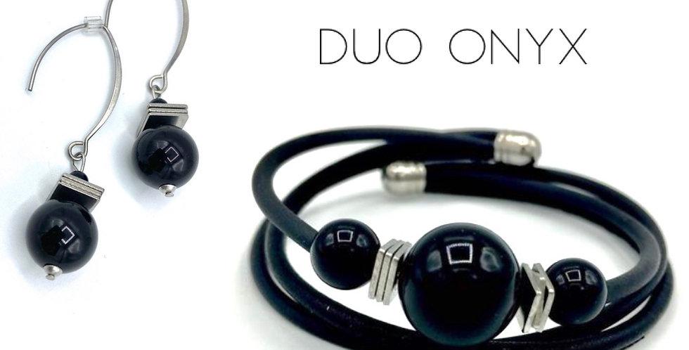 DUO boucles d'oreille et bracelets