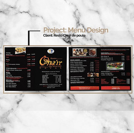 We had a blast updating the menus for Ch