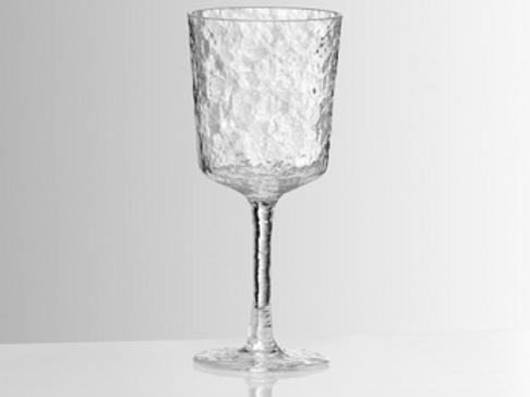 Vaisselle réutilisable en plastique de luxe: Verre à vin