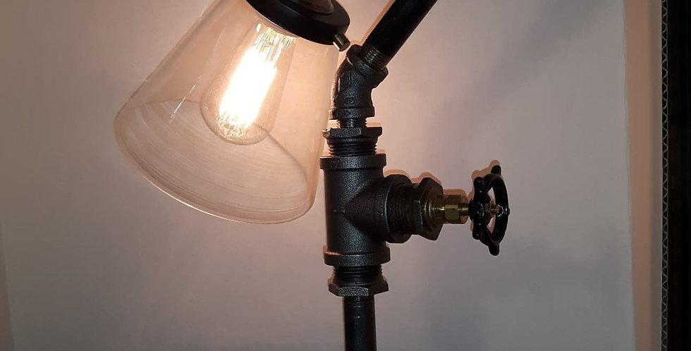 Lampe globe de verre