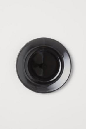 COCO Marilyn: Sous-assiette noire  11'' jetable réutilisable