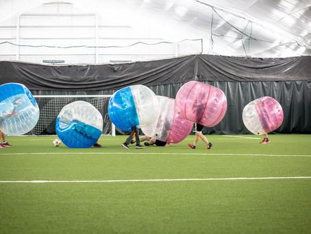 Soccer-bulles extérieur   Rabais sur activité