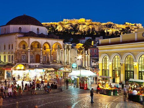 Athens by Night Tour with Dinner and Show | 2020 May 13, 14 or 15 | 8:00pm