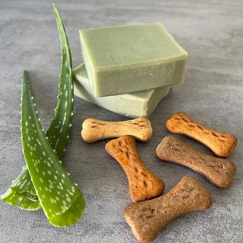 Aloe & Rosemary Dog Soap