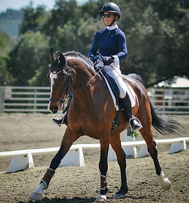 Patricia Lincourt and Limelight compete at Grand Prix level dressage