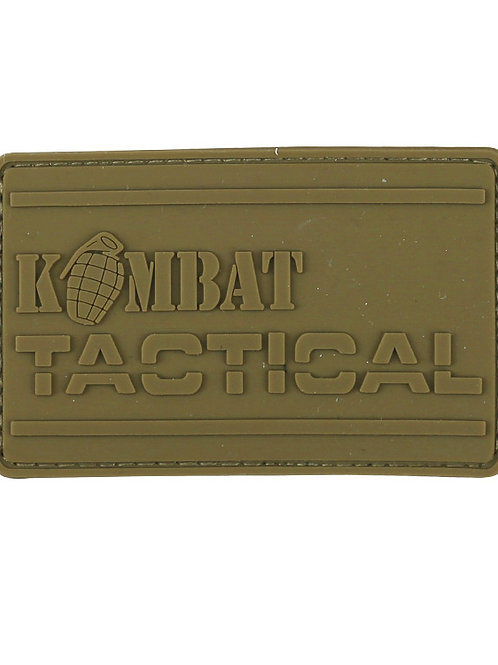 Kombat UK Kombat PVC Tactical Patch - Coyote